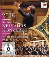 Cover Wiener Philharmoniker / Riccardo Muti - Neujahrskonzert 2018 - New Year's Concert [DVD]